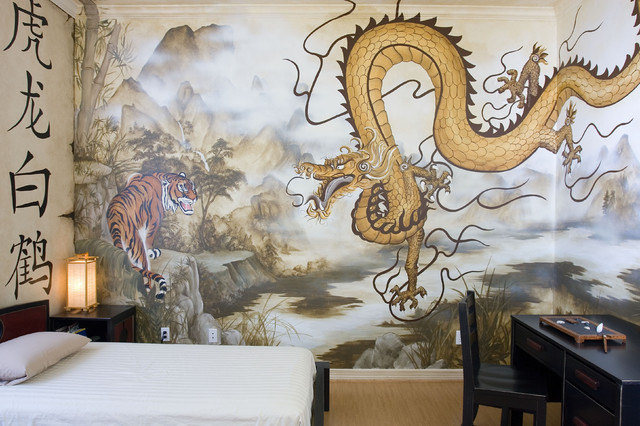 Eastern Themed Children S Bedroom Mural