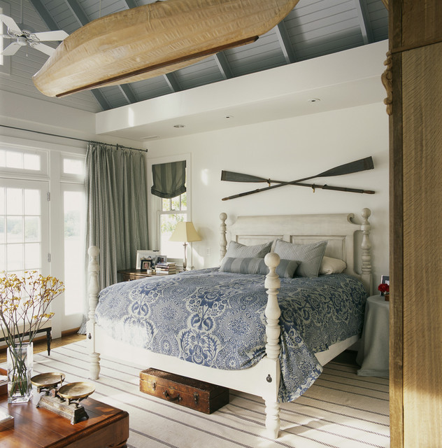 Easton House beach-style-bedroom