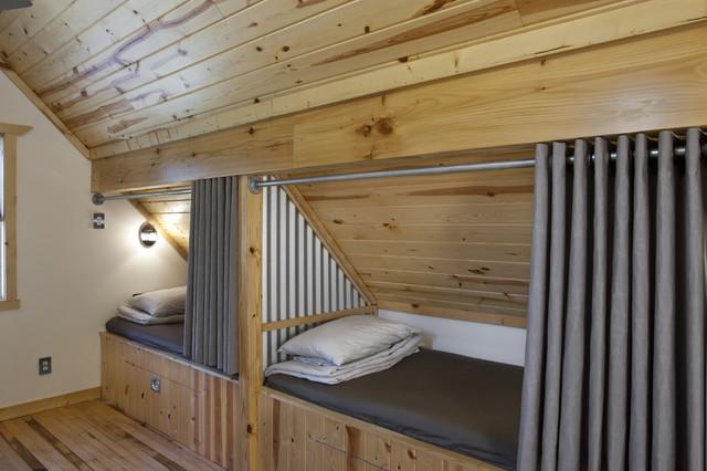 Eat, Sleep, Live contemporary-bedroom