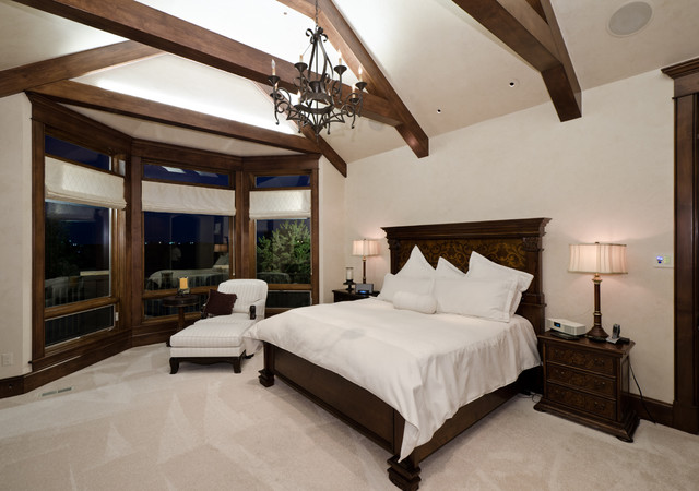 traditional bedroom by Aneka Interiors Inc.