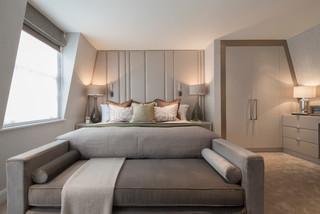 Eaton Mews North Contemporary Bedroom London By