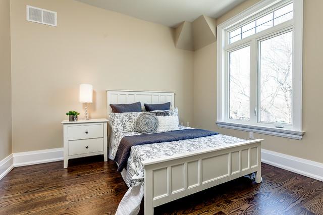 Klassisches Schlafzimmer in Toronto