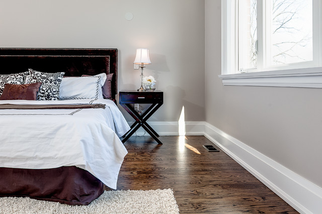 Inspiration for a transitional bedroom remodel in Toronto