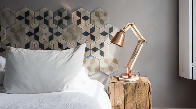 Genial 15 Kreative Ideen Für Die Wand Hinter Dem Bett