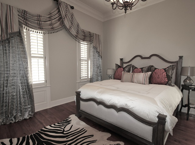 updated swags and bedding eclectic bedroom nashville
