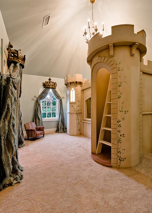 Castle Bunk Bed home spaces