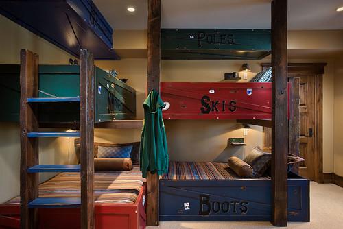 Montana mix eclectic bedroom