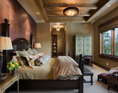 Montana mix eclectic bedroom