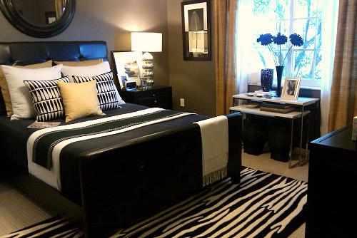2010 RESTYLED BEDROOM eclectic-bedroom