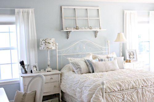 eclectic bedroom Shabby Chic Charm