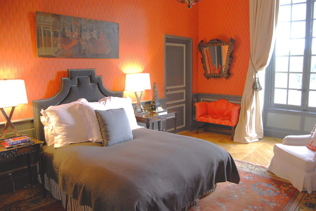 eclectic bedroom by HERMOGENO DESIGNS