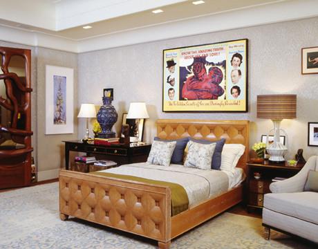 """""""A Collector's Bedroom"""" eclectic-bedroom"""