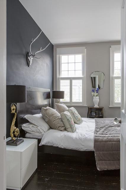 Queens Park House contemporary-bedroom