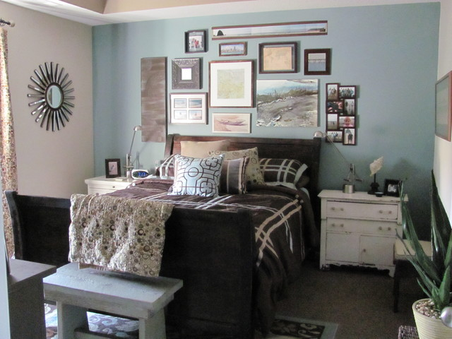 Eclectic bedroom for Eclectic master bedroom ideas