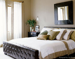 laura britt design eclectic bedroom