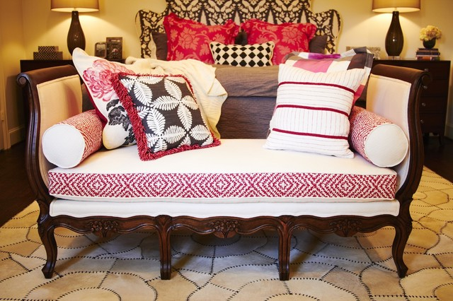 French Daybed eclectic-bedroom