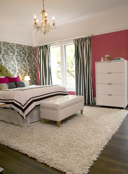 Modern girly bedroom eclectic bedroom san francisco for Modern feminine bedroom designs