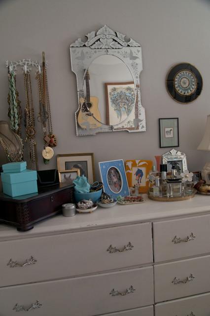 jewelry storage eclectic-bedroom