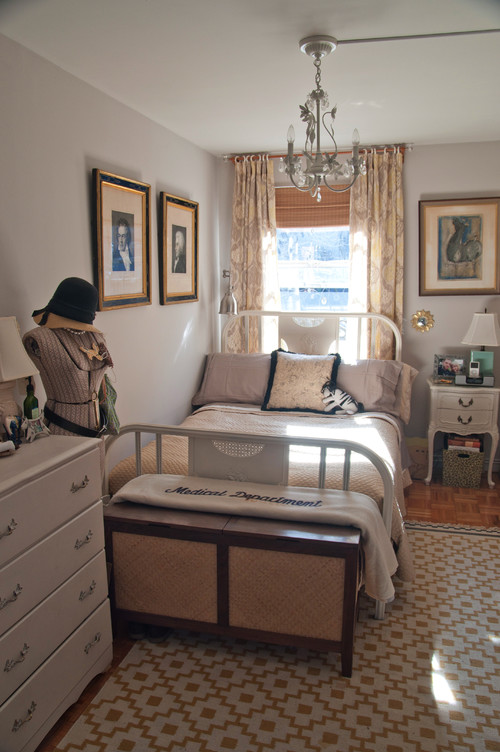 Lauren Gries eclectic bedroom