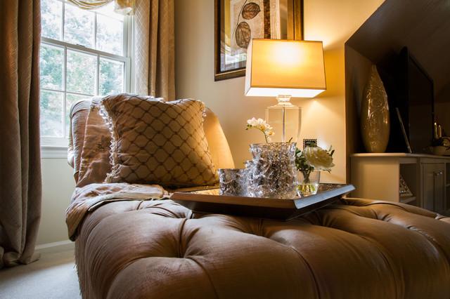 Eclectic Interiors eclectic-bedroom