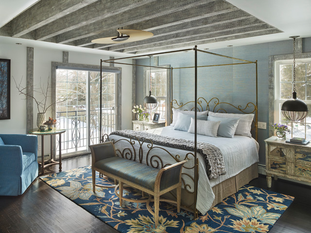 Eclectic Master Bedroom Renovation Shabby Chic Style