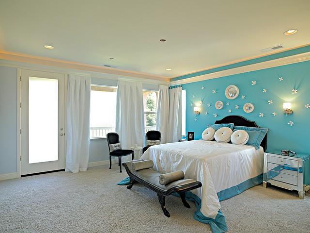 25 Mid Century Bedroom Design Ideas: Eclectic, Mid-Century Modern, Romantic Bedroom