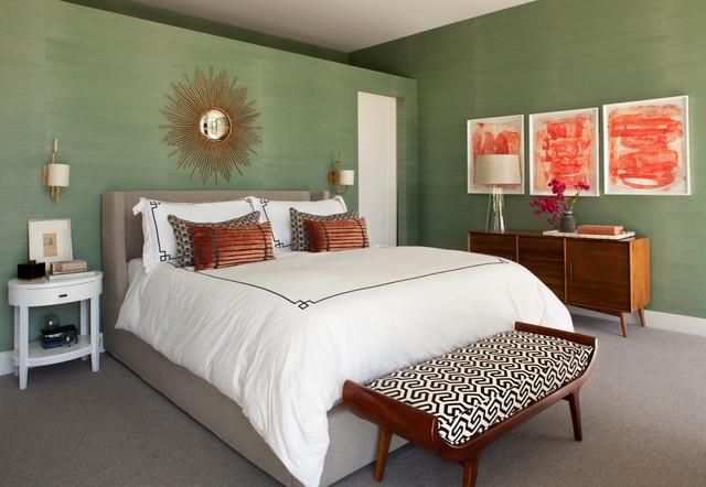 eclectic mid century rancho mirage midcentury bedroom los