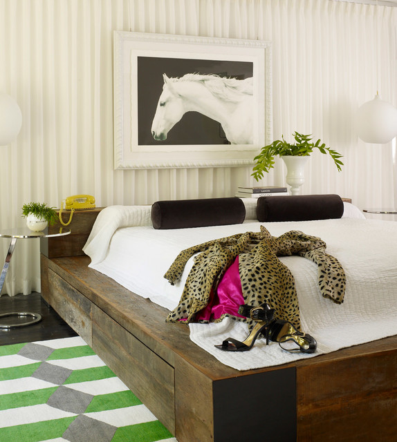 Eclectic Modern contemporary-bedroom