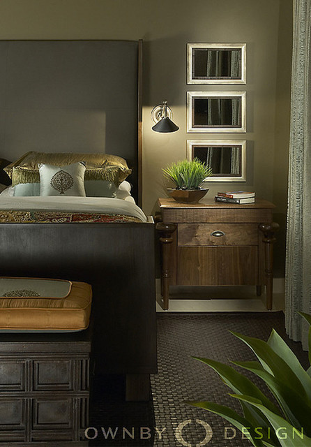 Eclectic Mountainside contemporary-bedroom