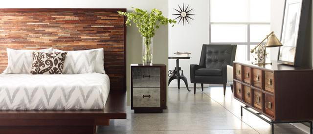 mid century bedroom furniture. eco-chic contemporary platform bedroom design industrial-bedroom mid century furniture