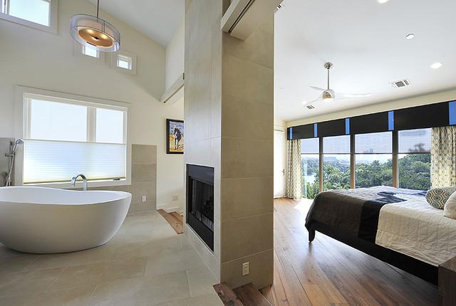 Eco-Entertainment contemporary-bedroom