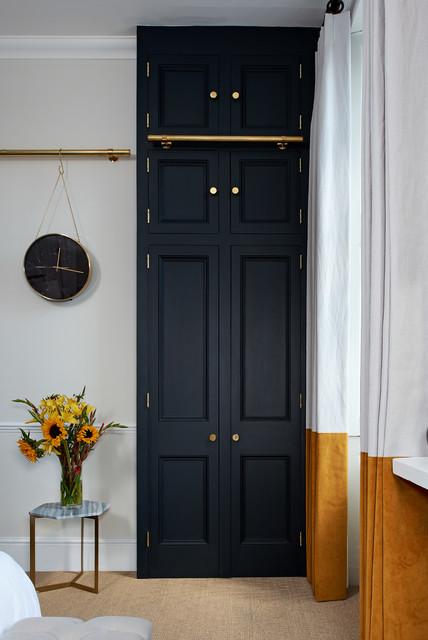 Edwardian Apartment in Cheltenham contemporary-bedroom