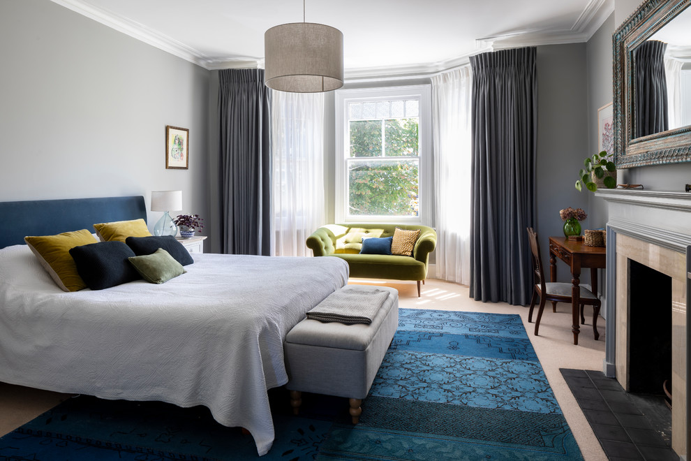 Edwardian Double Fronted House Traditional Bedroom London By Imperfect Interiors
