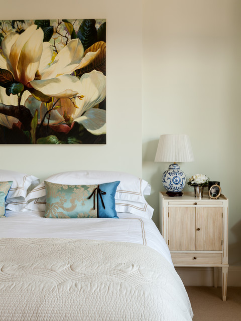 Edwardian Family Home, Surrey traditional-bedroom