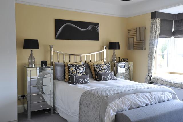 Edwardian House Burnham mediterranean-bedroom