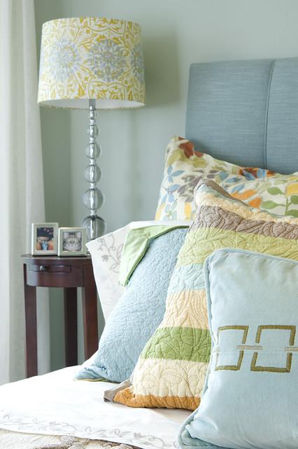 Edwina Drummond Interiors eclectic-bedroom