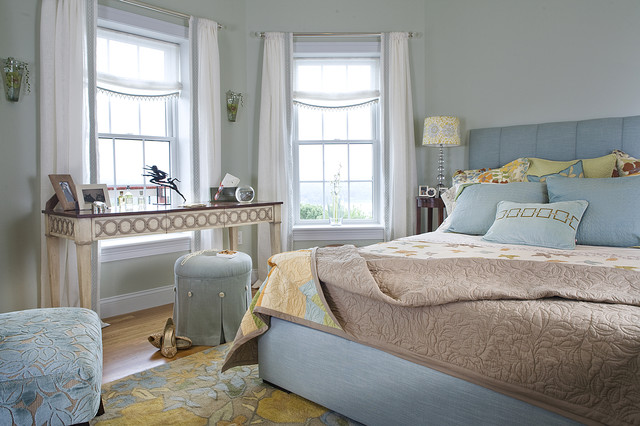 Edwina Drummond Interiors eclectic-bedroom
