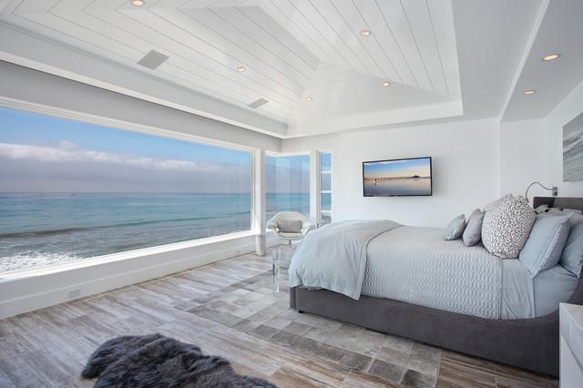 El Camino Real beach-style-bedroom