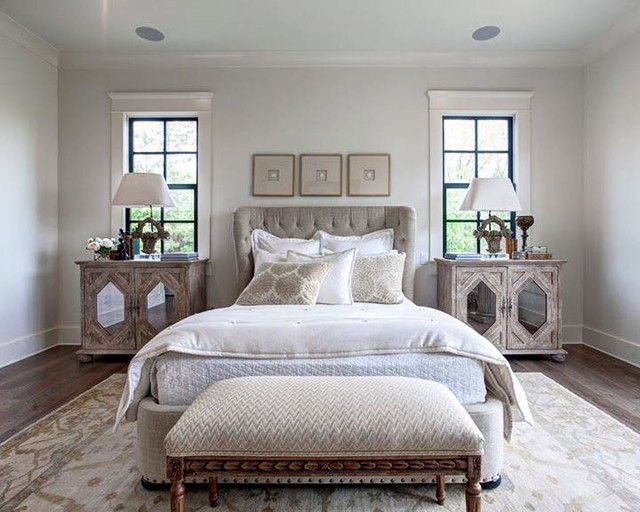 way southern living custom builder showcase home traditional bedroom
