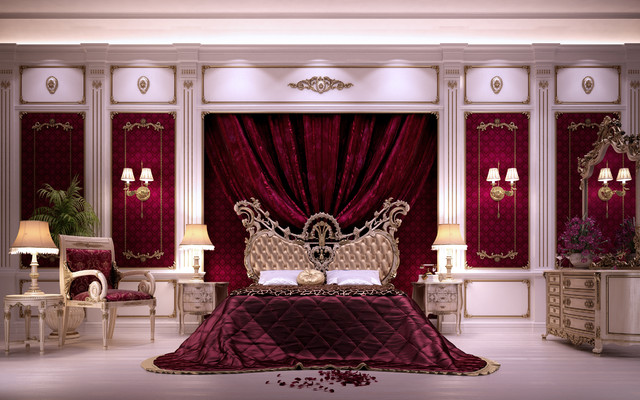 Eldora Private Palace Traditional Bedroom Other