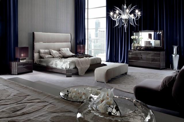 elegant art deco style bedroom - klassisch - schlafzimmer, Hause ideen