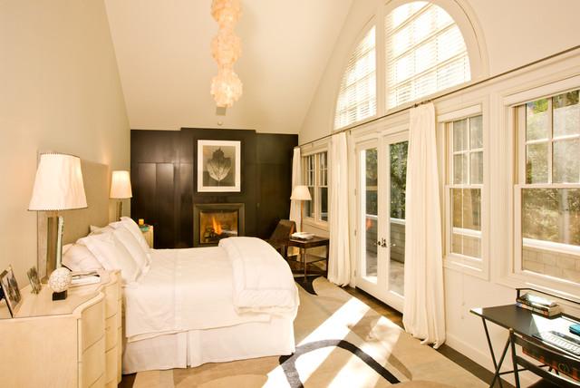 Elegant Aspen Escape contemporary-bedroom
