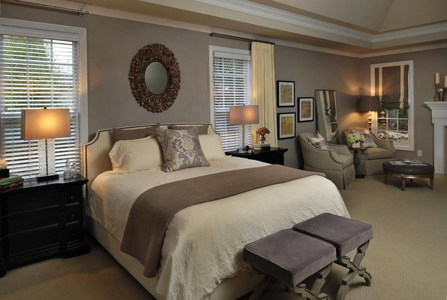 Inspiration For A Contemporary Bedroom Remodel In Nashville