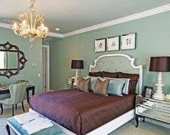 Elegant Hidden Hills Estate contemporary-bedroom