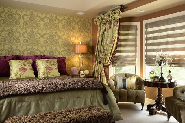Elegant Master Bedroom - Contemporary - Bedroom ...