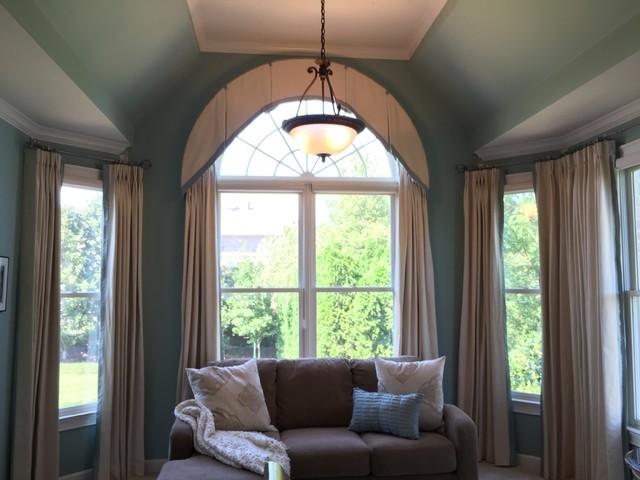 Elegant Master Bedroom Drapery Traditional Bedroom Nashville By Forsythe Home Styling