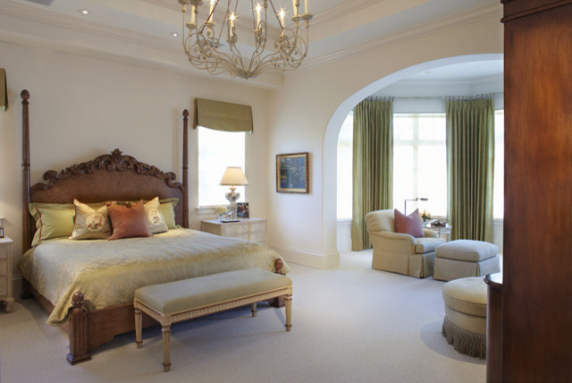 Elegant master bedroom traditional bedroom other for Elegant bedroom designs