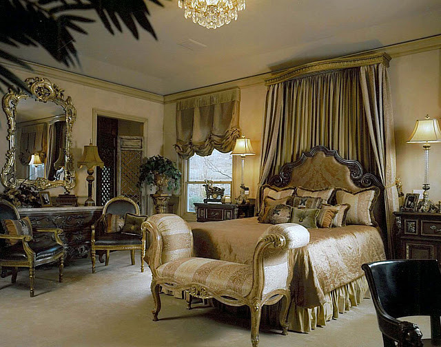 Charming Elegant Master Suite Traditional Bedroom Design Ideas