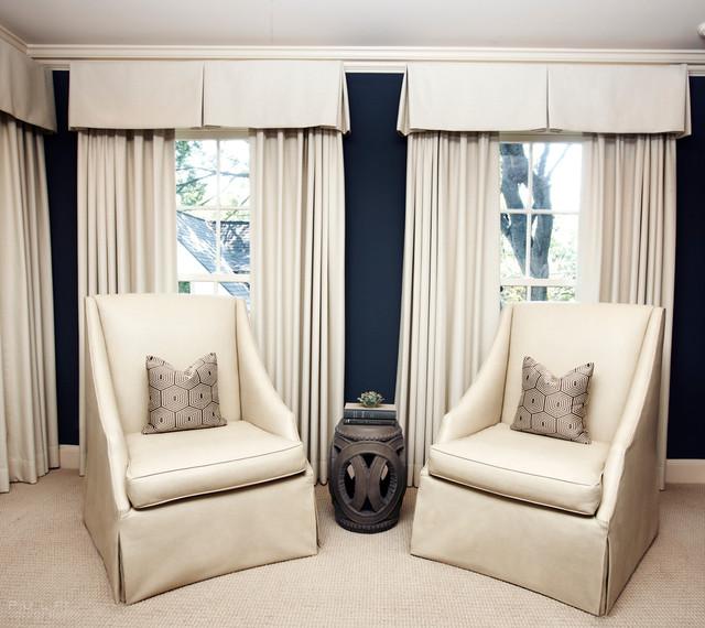 Beautiful Bedroom Sitting Areas: Elegant-Modern Master Bedroom Sitting Area