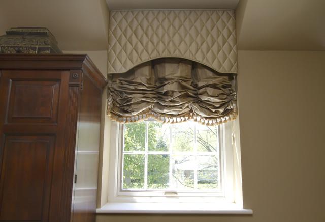 Window treatments cornice boards for Bedroom cornice design